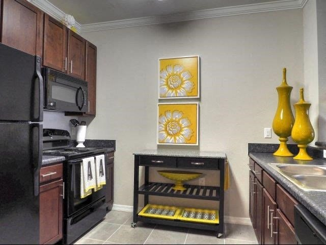 Fully Equipped Kitchen at Amberton at Stonewater, North Carolina, 27519