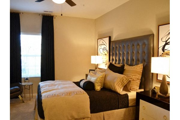 Transitional Master Carpeted Bedroom at Horizons at Steele Creek, Charlotte, NC, 28273