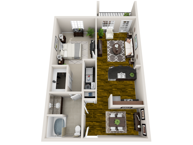 Tranquility Floor Plan 1