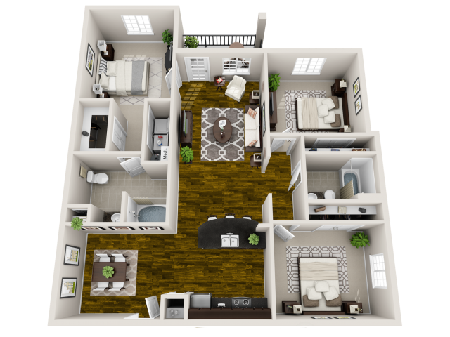Zen Floor Plan at Horizons at Steele Creek, Charlotte, NC, 28273