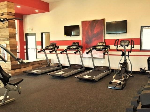 Fitness Center at Horizons at Steele Creek, Charlotte, NC, 28273