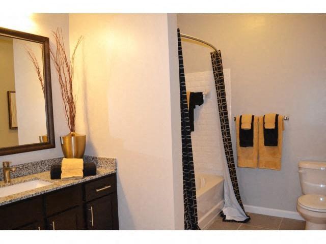 Large Bathroom Mirror at Horizons at Steele Creek, Charlotte, North Carolina