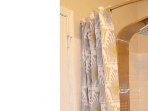 Shower Enclosures in Bathroom at Horizons at Steele Creek, Charlotte, North Carolina
