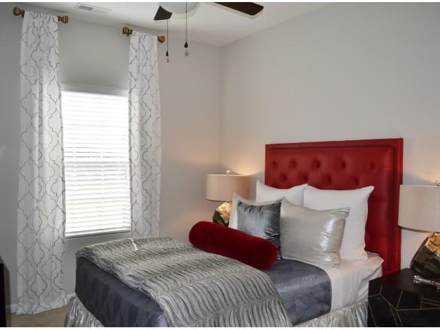 Cozy Bedrooms at Horizons at Steele Creek, Charlotte