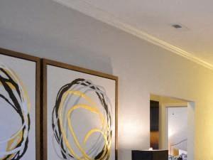 Modern Living Room Furnishings at Horizons at Steele Creek, Charlotte, NC, 28273