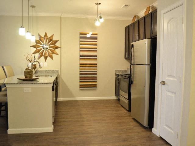 New Countertops and Cabinets at Horizons at Steele Creek, Charlotte, NC
