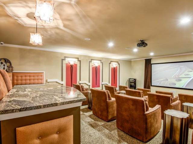 Movie Theater at Adeline at White Oak, Garner, North Carolina