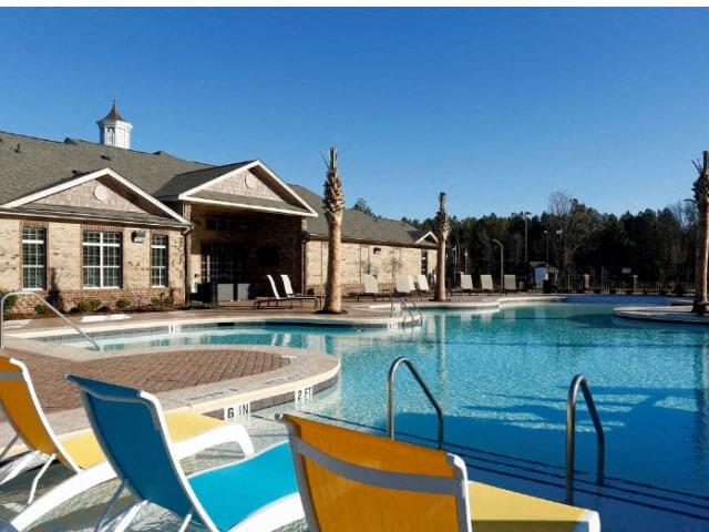 Resort-Inspired Pool at Adeline at White Oak, Garner, NC, 27529