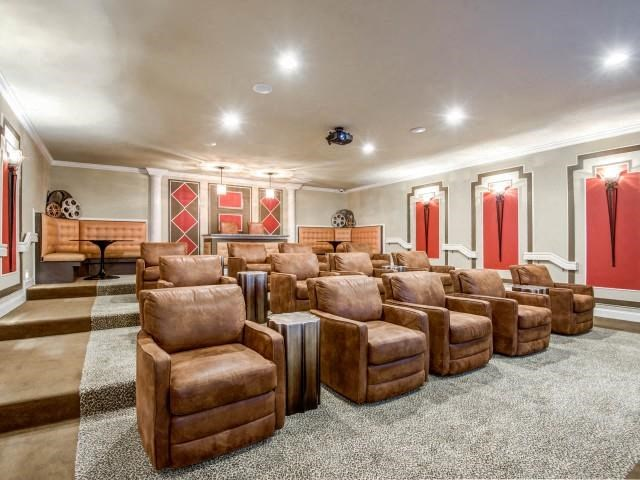 Resident Movie Theater at Adeline at White Oak, Garner, 27529