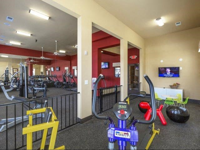State-of-the-Art Fitness Center at Adeline at White Oak, Garner, NC
