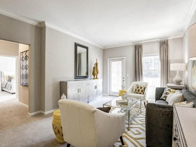 Luxurious interiors at Adeline at White Oak, North Carolina
