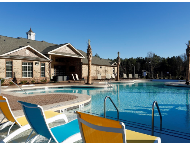Resort-Inspired Pool at Adeline at White Oak, Garner, NC, 27529