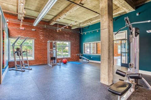 Fitness Center Access at CityView Apartments, Greensboro, NC