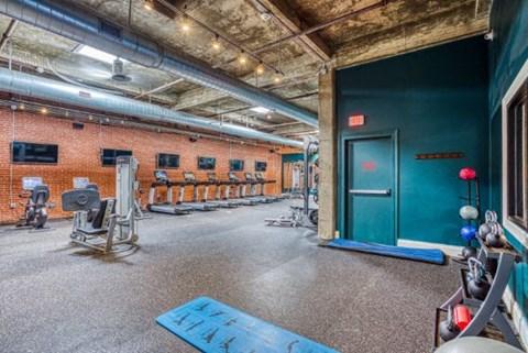 Health And Fitness Center at CityView Apartments, North Carolina, 27406