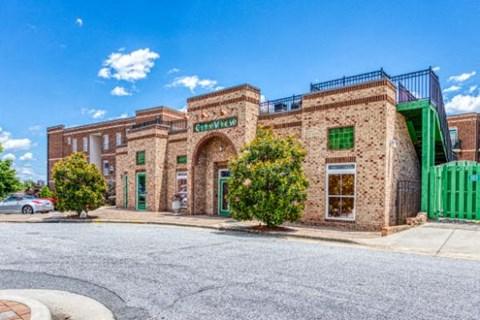 Elegant Exterior View at CityView Apartments, Greensboro, NC