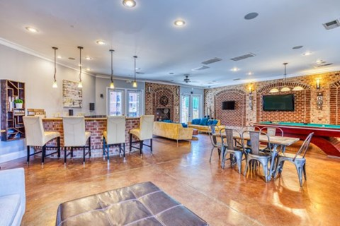 Clubhouse With Catering Kitchen at CityView Apartments, Greensboro