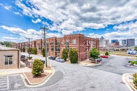 Off Street Parking Facility at CityView Apartments, Greensboro, 27406