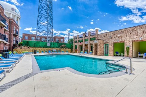 Outdoor Swimming Pool at CityView Apartments, Greensboro