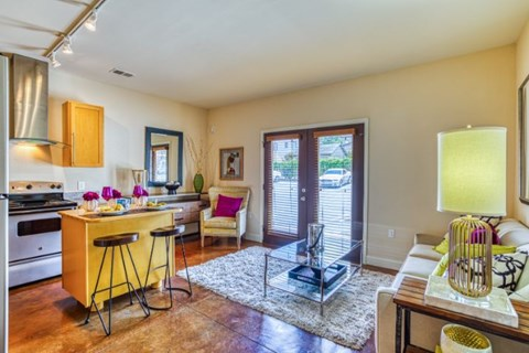 Gourmet Kitchen With Island at CityView Apartments, North Carolina, 27406
