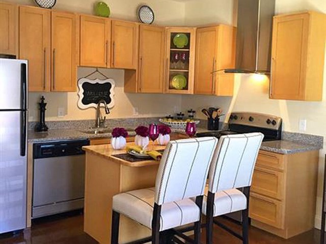 Chef Inspired Kitchen Islands at CityView Apartments, Greensboro