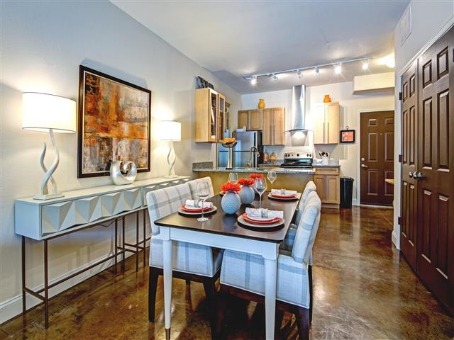 Formal Dining Room at CityView Apartments, Greensboro, NC, 27406
