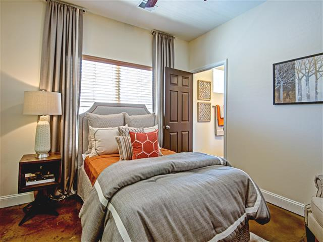 Large Bed at CityView Apartments, Greensboro