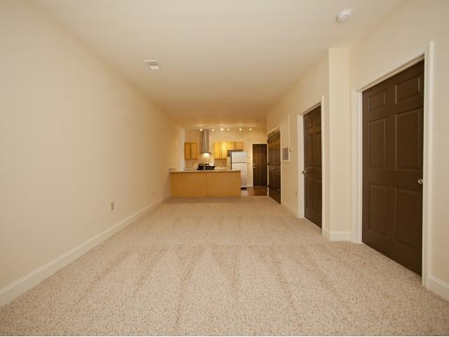 Carpeted Living Room at CityView Apartments, Greensboro, NC