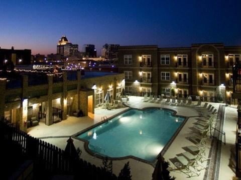 Sparkling Pool at CityView Apartments, Greensboro, NC, 27406
