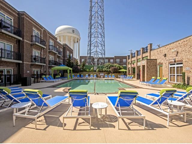 Pool House at CityView Apartments, Greensboro, NC