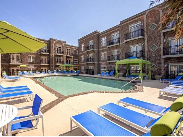 Resort-Inspired Pool at CityView Apartments, Greensboro, North Carolina