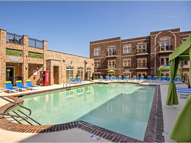Pool View at CityView Apartments, Greensboro