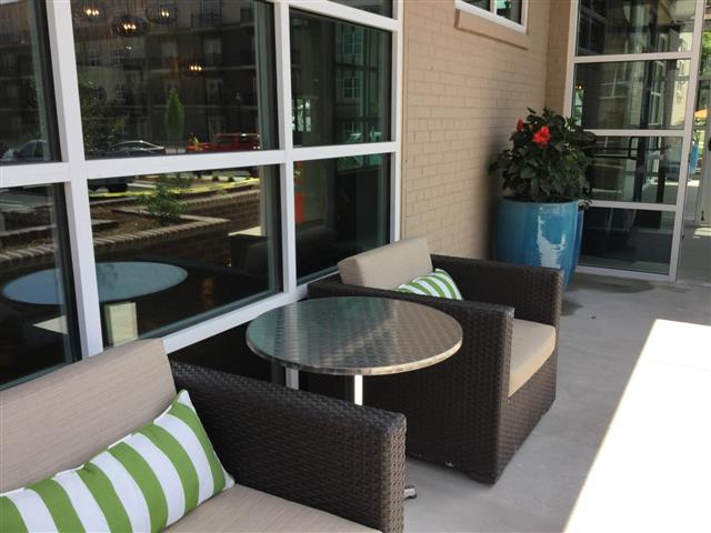 Open Relaxing Area at CityView Apartments, Greensboro, NC