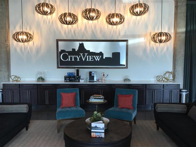 Resident Lounge at CityView Apartments, Greensboro, 27406