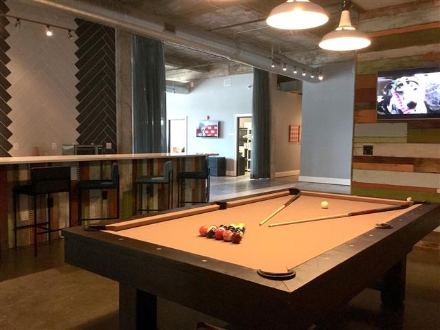 Sports and Billiard Lounge at CityView Apartments, Greensboro, NC, 27406