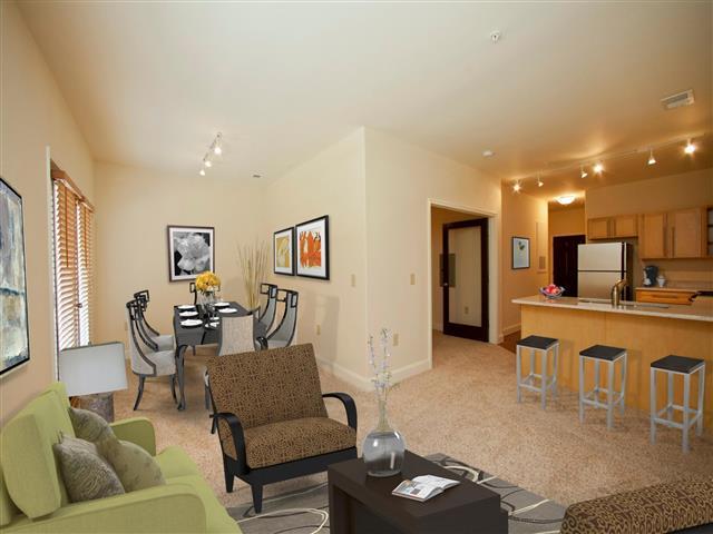Formal Dining Room at CityView Apartments, North Carolina