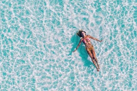 Woman In A Pool at CityView Apartments, North Carolina, 27406