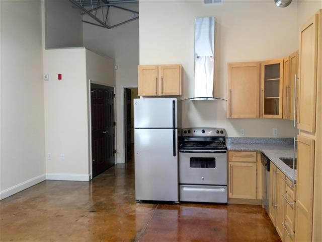 Kitchen Cupboards at CityView Apartments, Greensboro, NC, 27406