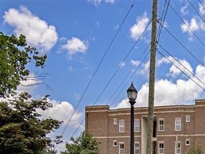 Front Entrance at CityView Apartments, Greensboro, 27406