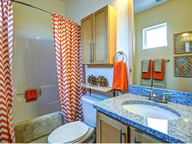 Shower Enclosures at CityView Apartments, North Carolina, 27406