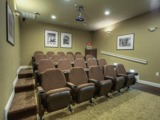 Movie Theater at Innisbrook Village Apartments, Greensboro, 27405