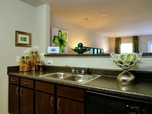 Spacious Kitchen at Innisbrook Village Apartments, Greensboro