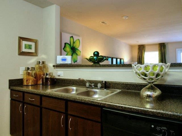 Spacious Kitchen at Innisbrook Village Apartments, Greensboro