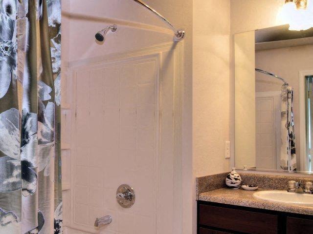Shower Enclosures at Innisbrook Village Apartments, Greensboro, 27405