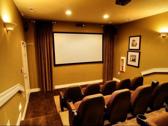 Movie Theater at Innisbrook Village Apartments, North Carolina