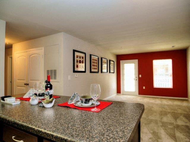 Kitchen Islands at Innisbrook Village Apartments, Greensboro, North Carolina