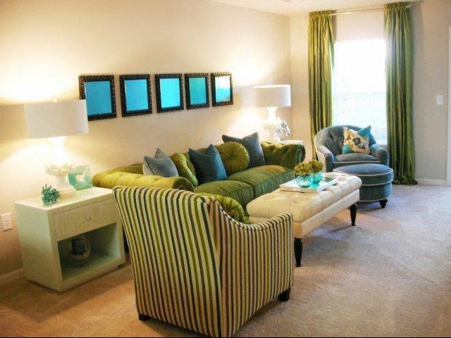Luxurious Living Room Interiors  at Innisbrook Village Apartments, North Carolina