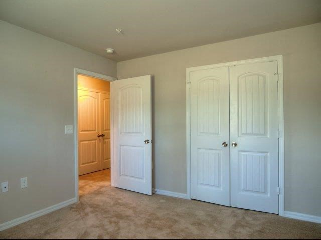 Closet in Bedroom at Innisbrook Village Apartments, Greensboro
