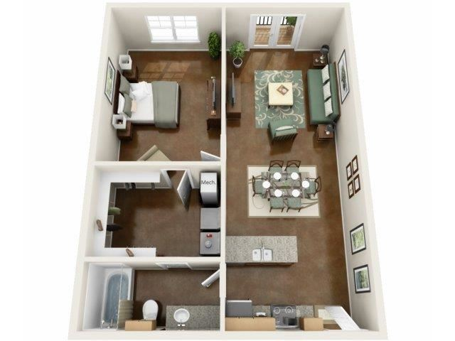 Beacon Floor Plan at NorthPoint at 68, High Point
