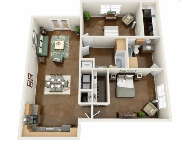 Harbor Floor Plan at NorthPoint at 68, High Point, NC