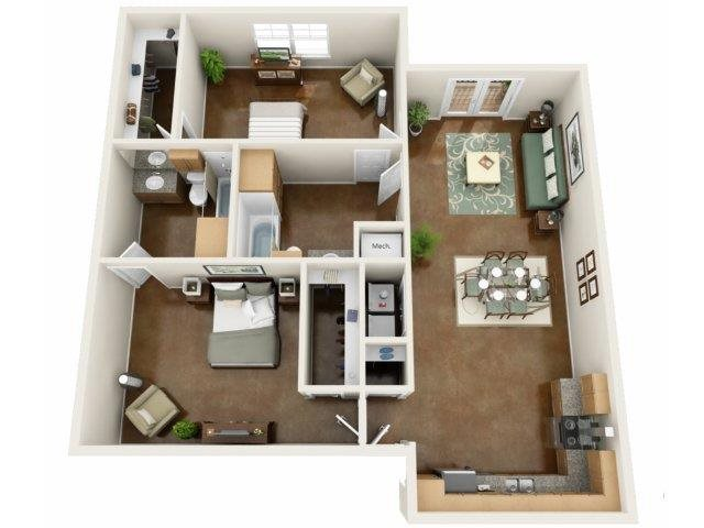 Marina Floor Plan at NorthPoint at 68, North Carolina, 27265